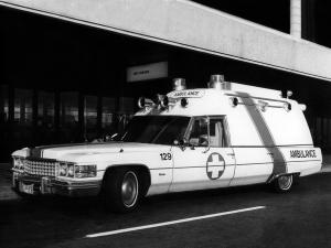 Cadillac Criterion Rescue Ambulance by Miller-Meteor 1974 года