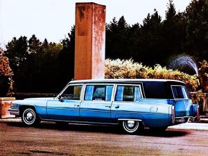 Cadillac Sovereign Limousine by Superior 1975 года