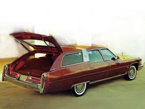 1976 Cadillac Fleetwood Estate Wagon by Traditional Coachworks