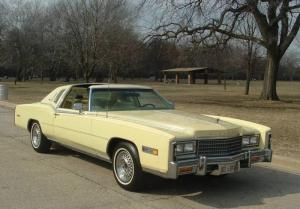 Cadillac Eldorado Biarritz With Power T-Tops 1978 года