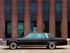 Cadillac Fleetwood Brougham by Moloney 1978 года