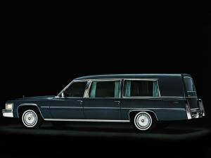 Cadillac Miller-Meteor Classic Funeral Coach 1978 года