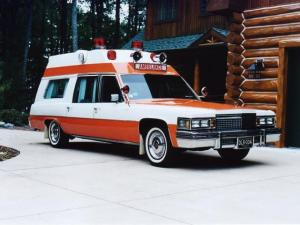 1979 Cadillac Superior Transport Ambulance