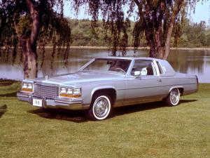 1980 Cadillac Fleetwood Brougham d'Elegance Coupe