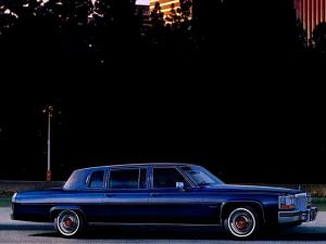 Cadillac Fleetwood Formal Limousine 1980 года