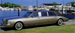 Dillinger-Gaines Cadillac Seville Gran Touring Limousine 1981 года