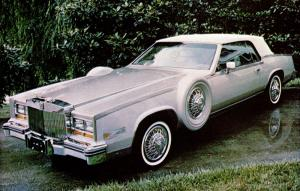 Cadillac Eldorado Connoisseur Coupe by Regal Coach 1982 года