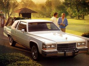 1982 Cadillac Fleetwood Brougham d'Elegance Coupe