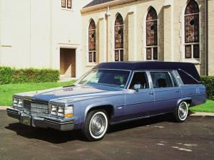 Cadillac Custom Elite Funeral Coach by Century Coach Company 1983 года