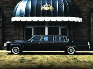 1984 Cadillac Fleetwood 6-Door Limousine by Moloney