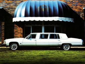Cadillac Fleetwood Grand Flagship Limousine by Moloney 1984 года