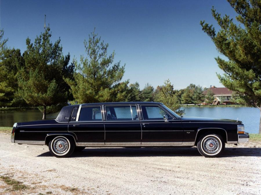 1988 Cadillac Brougham Limousine by Eureka