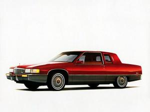 Cadillac Fleetwood Coupe 1989 года