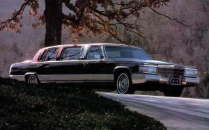 Cadillac Brougham Limousine by Armbruster-Stageway '1990