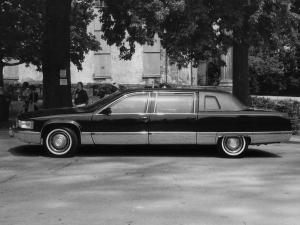 1996 Cadillac Fleetwood Brougham Formal Limousine by Moloney