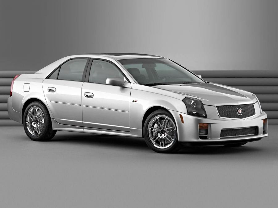 Cadillac CTS-V With Accessories