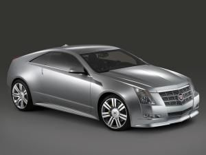 Cadillac CTS Coupe Concept 2008 года