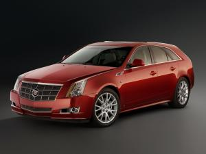 Cadillac CTS Sport Wagon 2008 года