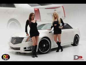 Cadillac CTS by D3 2008 года