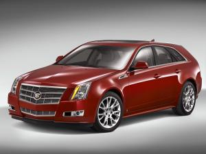 Cadillac CTS Sport Wagon 2009 года