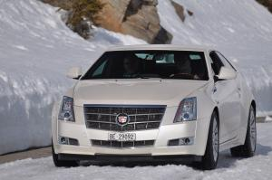 Cadillac CTS AWD Coupe 2011 года