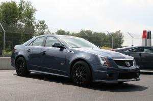 2011 Cadillac CTS-V Supersonic Blue Prototype