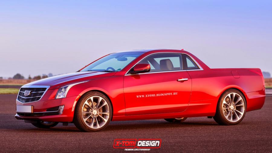 Cadillac ATS Pickup by X-Tom Design '2014