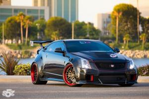 2014 Cadillac CTS-V Coupe by D3 Cadillac