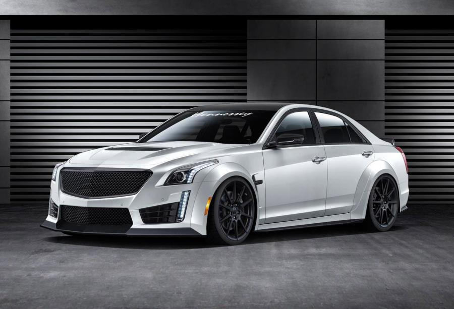Cadillac CTS-V HPE1000 Twin Turbo by Hennessey Performance