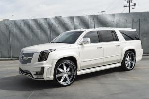 2015 Cadillac Escalade ESV on Forgiato Wheels (ESPORRE)