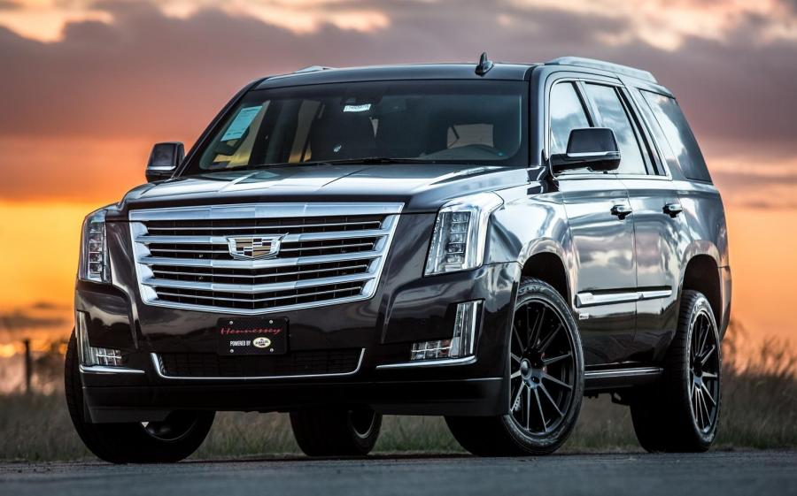 Cadillac Escalade HPE800 Supercharged by Hennessey '2015