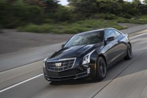 Cadillac ATS Coupe Black Chrome