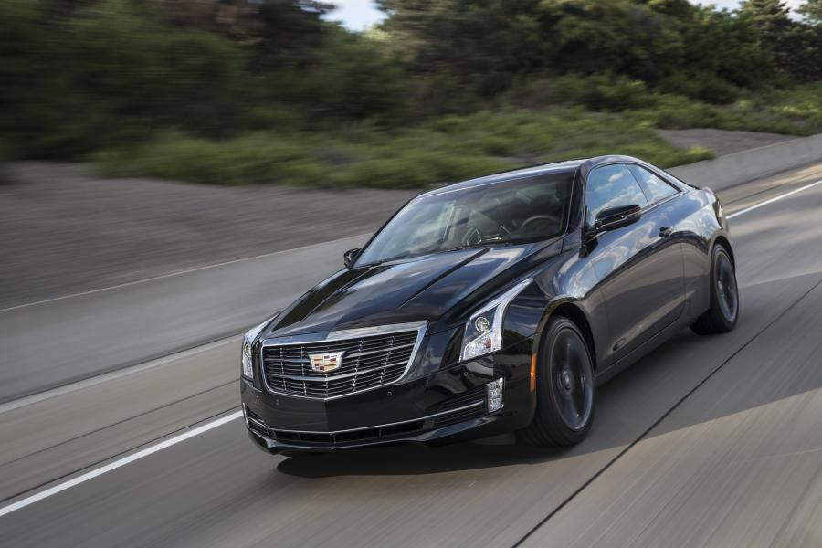 Cadillac ATS Coupe Black Chrome '2016