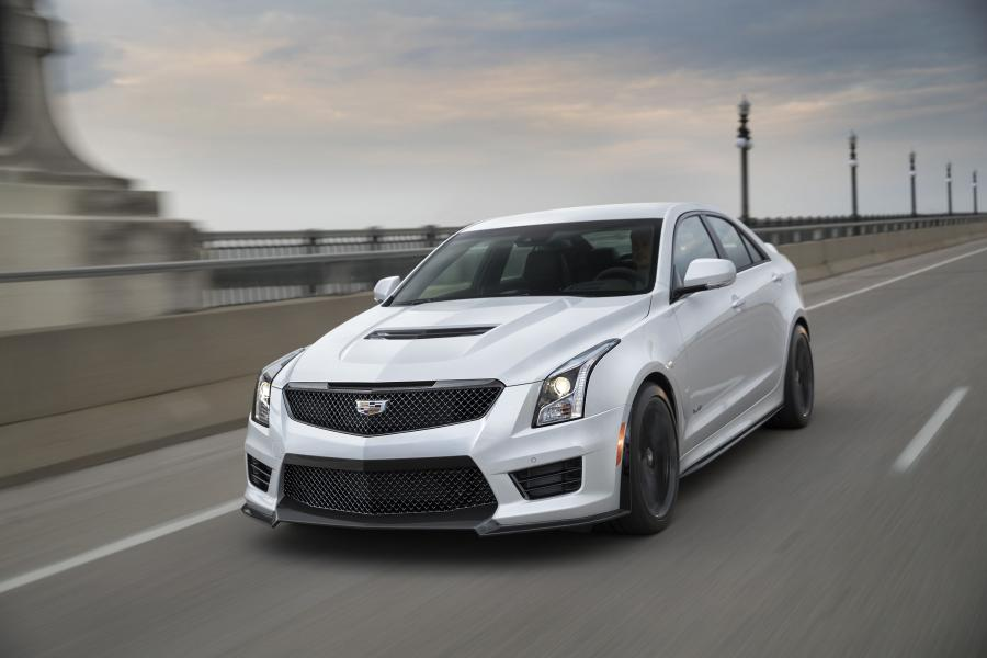 Cadillac ATS-V Carbon Black Sport Package '2016