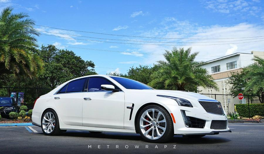 2016 Cadillac CTS Carbon Fiber Accents by MetroWrapz