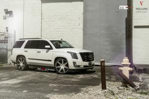 Cadillac Escalade by MC Customs on Vellano Wheels