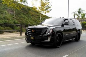 Cadillac Escalade on Forgiato Wheels (Concavo) 2017 года