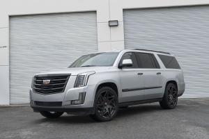 2017 Cadillac Escalade on Forgiato Wheels (Finestro-M)