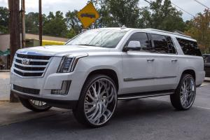 2017 Cadillac Escalade on Forgiato Wheels (Sincro)