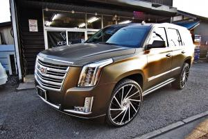 Cadillac Escalade on Forgiato Wheels (Ventoso-M)