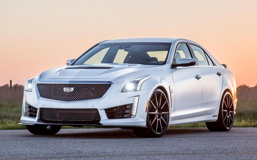 Cadillac CTS-V HPE1000 Pedestal Edition by Hennessey '2018