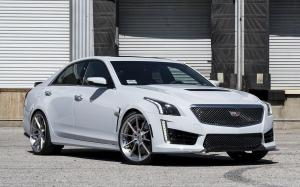Cadillac CTS-V on Forgiato Wheels (TEC 2.4) 2018 года