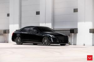 2018 Cadillac CTS-V on Vossen Wheels (HF-2)