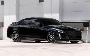 Cadillac CTS-V on Vossen Wheels (HF-2) 2018 года