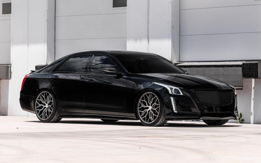Cadillac CTS-V on Vossen Wheels (HF-2) '2018