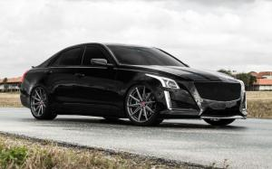 Cadillac CTS-V on Vossen Wheels (VFS-10) 2018 года