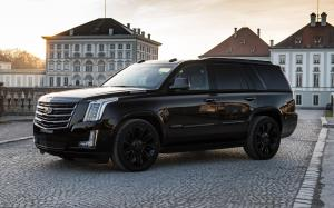 Cadillac Escalade Black Edition by GeigerCars 2018 года
