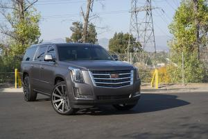 2018 Cadillac Escalade by Creeative Design on Forgiato Wheels (Concavo-M)