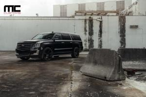 2018 Cadillac Escalade by MC Customs on Avant Garde Wheels