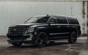 Cadillac Escalade by MC Customs on Avant Garde Wheels 2018 года